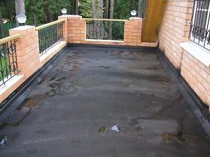 Гидроизоляция и ремонт ж/б плиты балкона