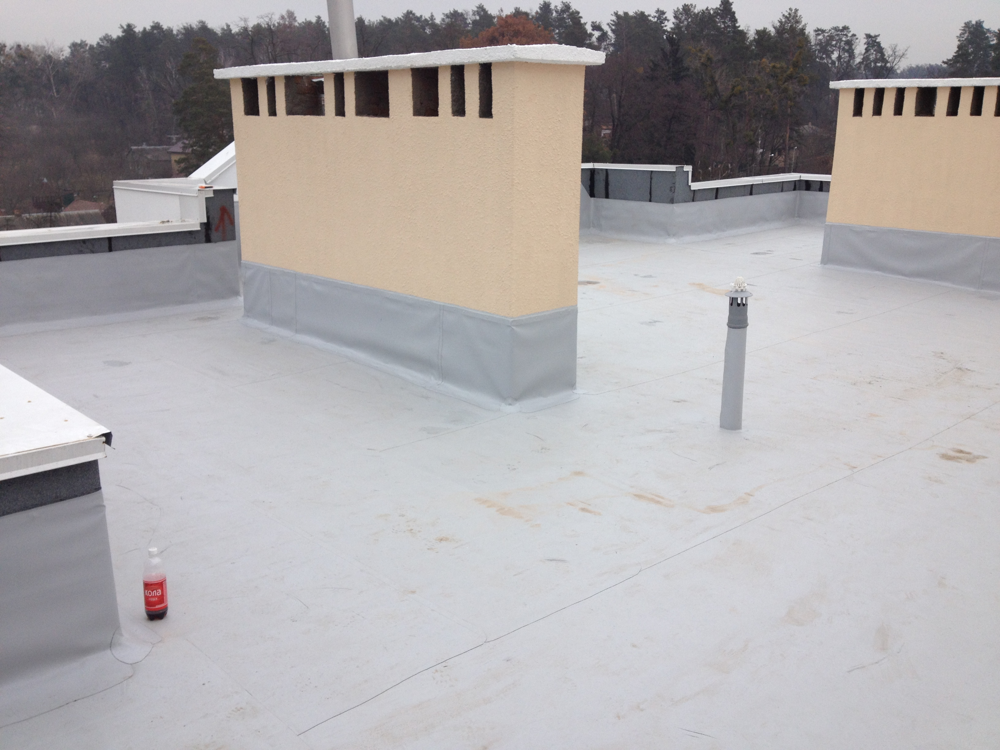 Гидроизоляция плоской крыши цена полимерные обмазочные материалы гидроизоляция цена