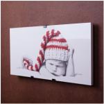 """Керамико-углеродная нагревательная панель """"Quantum electric"""" (младенец в шапочке)"""
